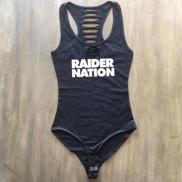Raiders Football Raider Nation Bodysuit Onepiece